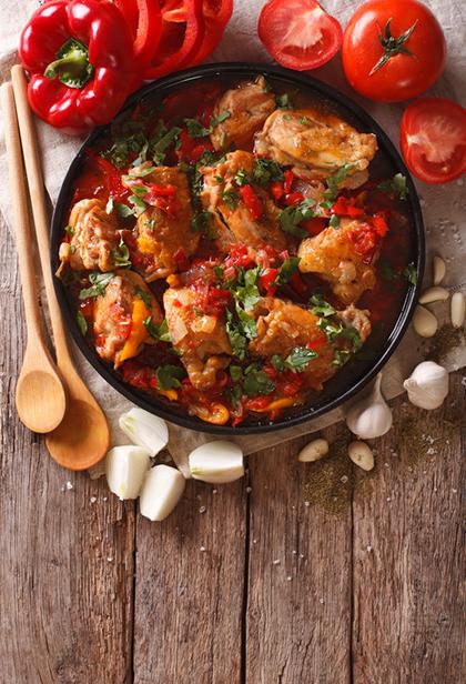 zdravo varivo piletina povrće