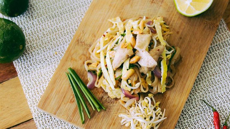 Klice mungo graha i piletina s tjesteninom