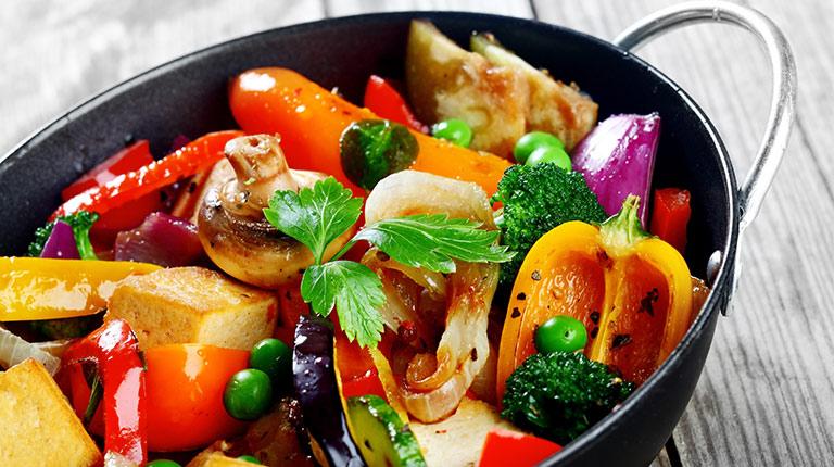 tofu s povrćem